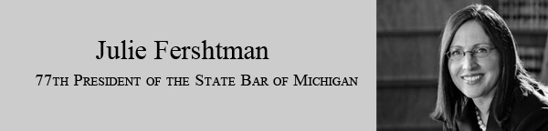 Julie Fershtman, 77th President of the State Bar of Michigan